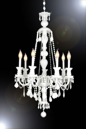 Becoming Home Chandelier Lust