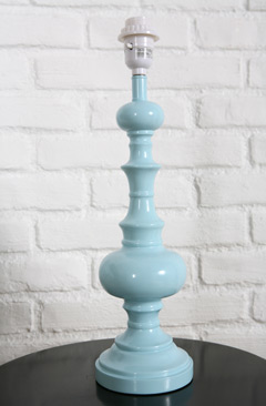 Blue Lamp from Urban outfitters