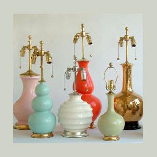 Handmade Ceramic Lamps