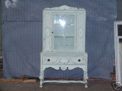 my new antique china hutch!