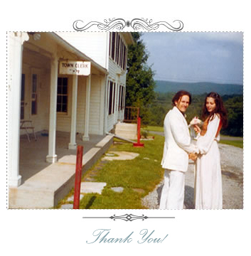 Michael and Sally Daner on their wedding day