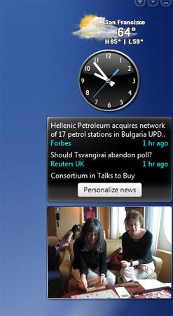 slideshow widget